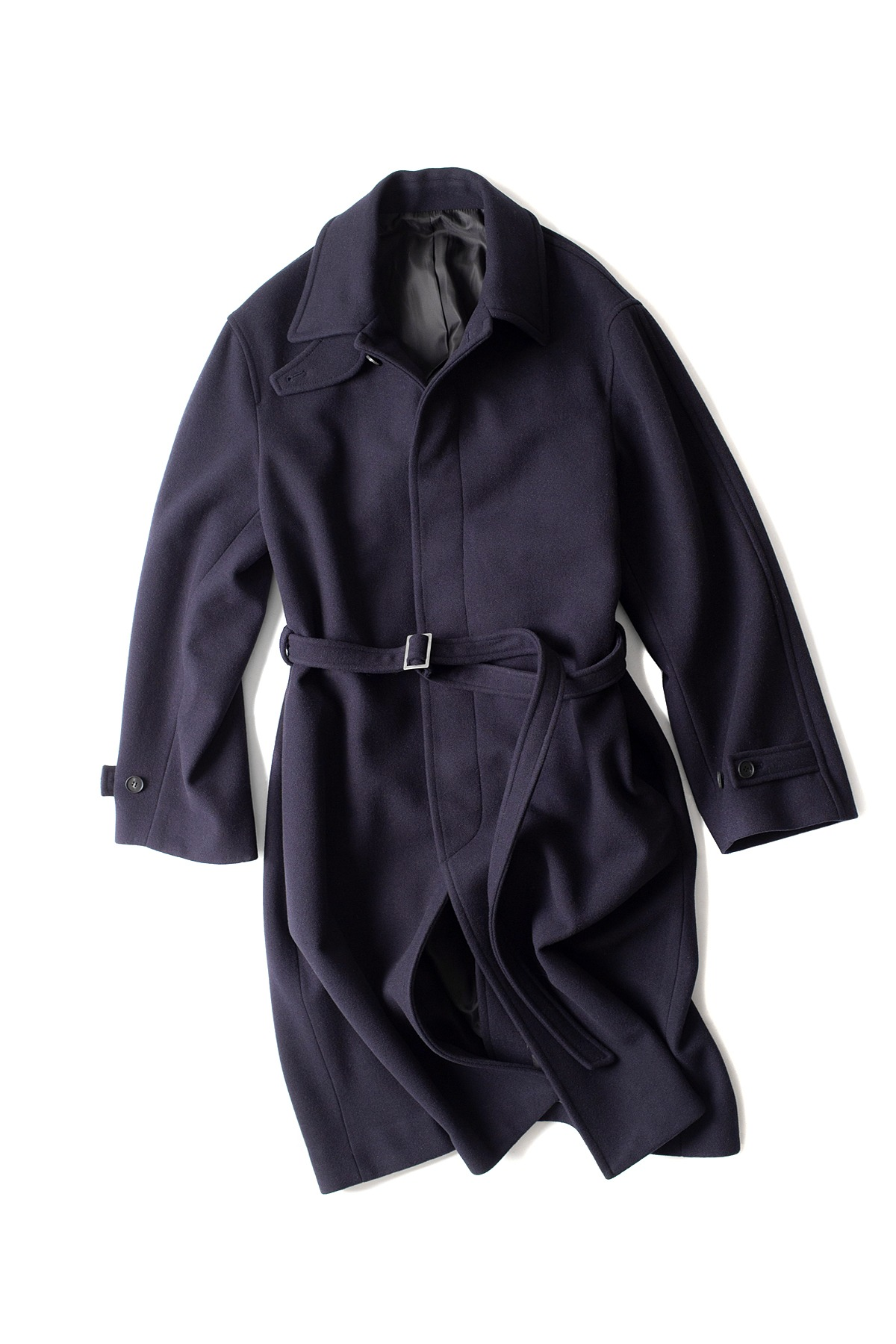 youth : Belted Mac Coat (Navy)