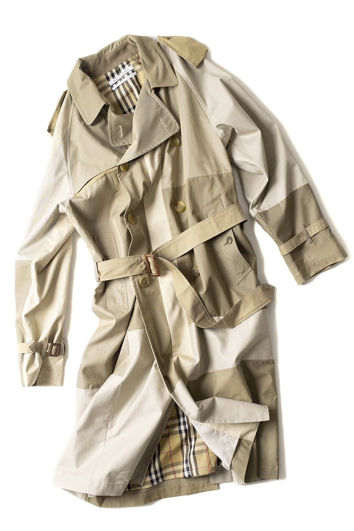 Children of the discordance : Vintage Patch Trench Coat (C)
