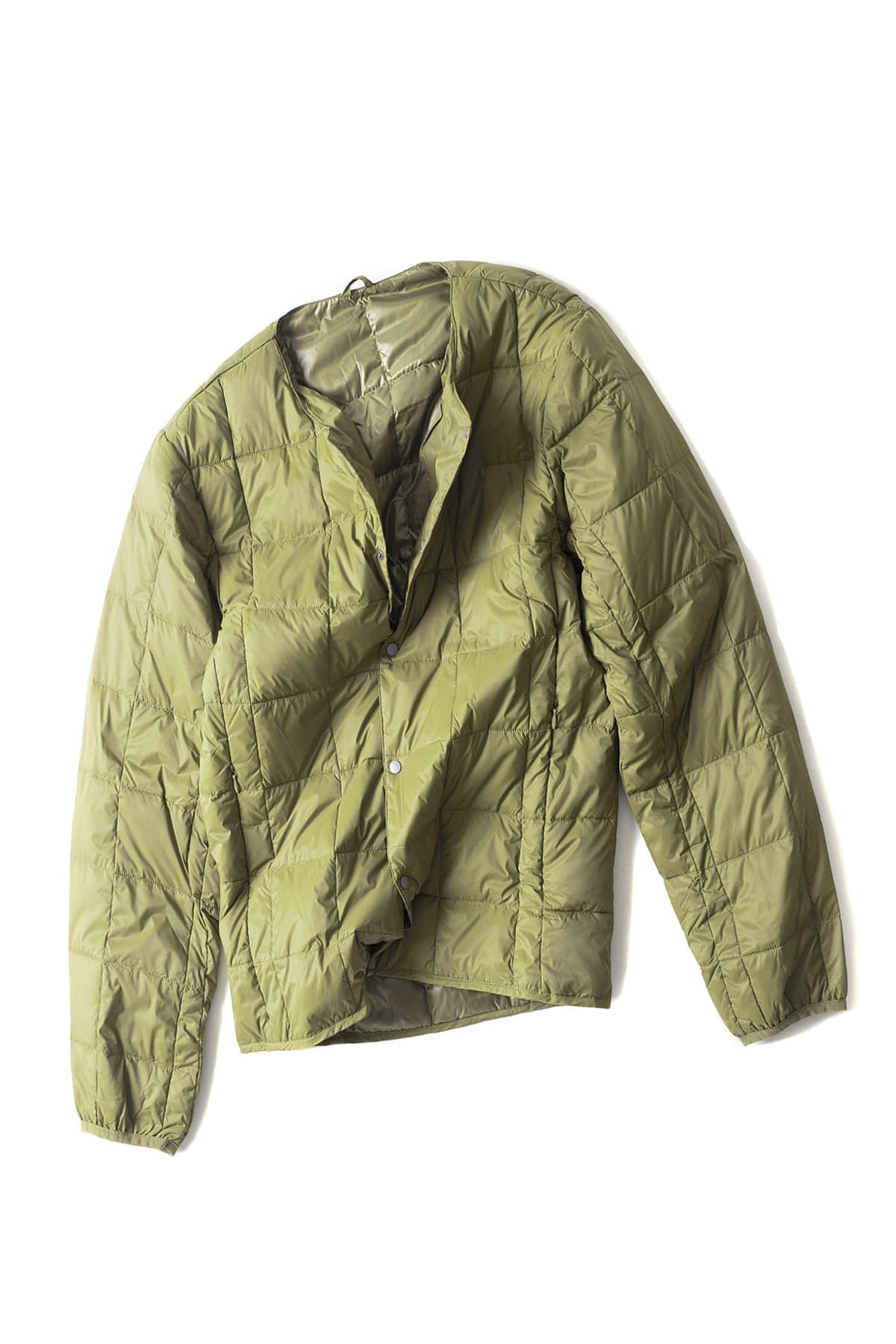 TAION : Crew Next Button Down Jacket (Olive)
