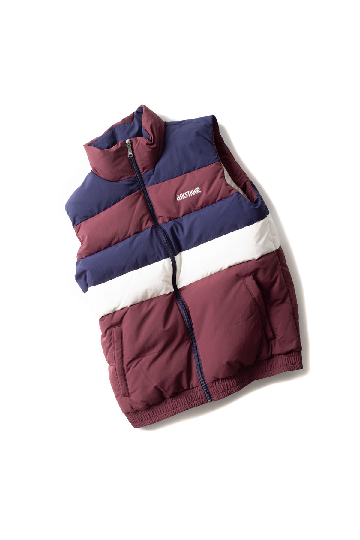 asics tiger : CB Down Vest (Burgundy)