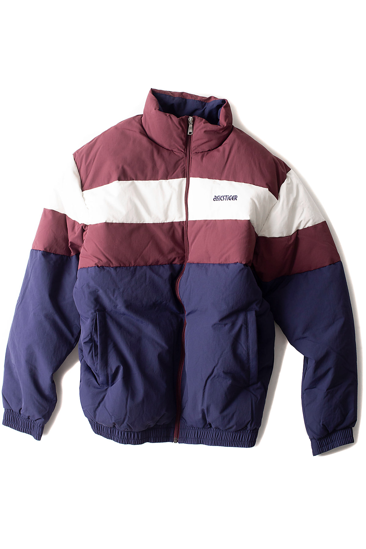 asics tiger : CB Down Jacket (Burgundy)