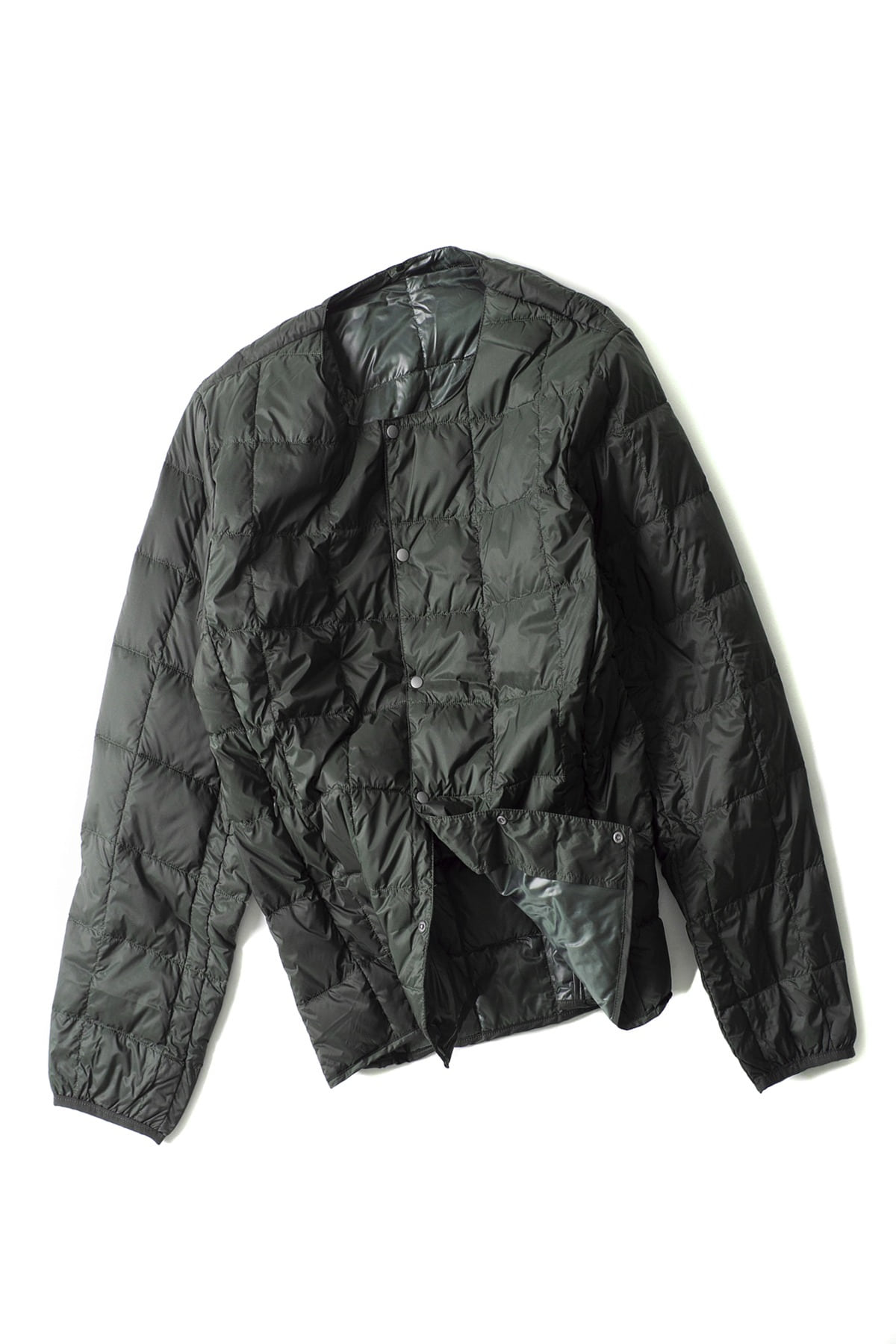 TAION : Crew Next Button Down Jacket (Green)