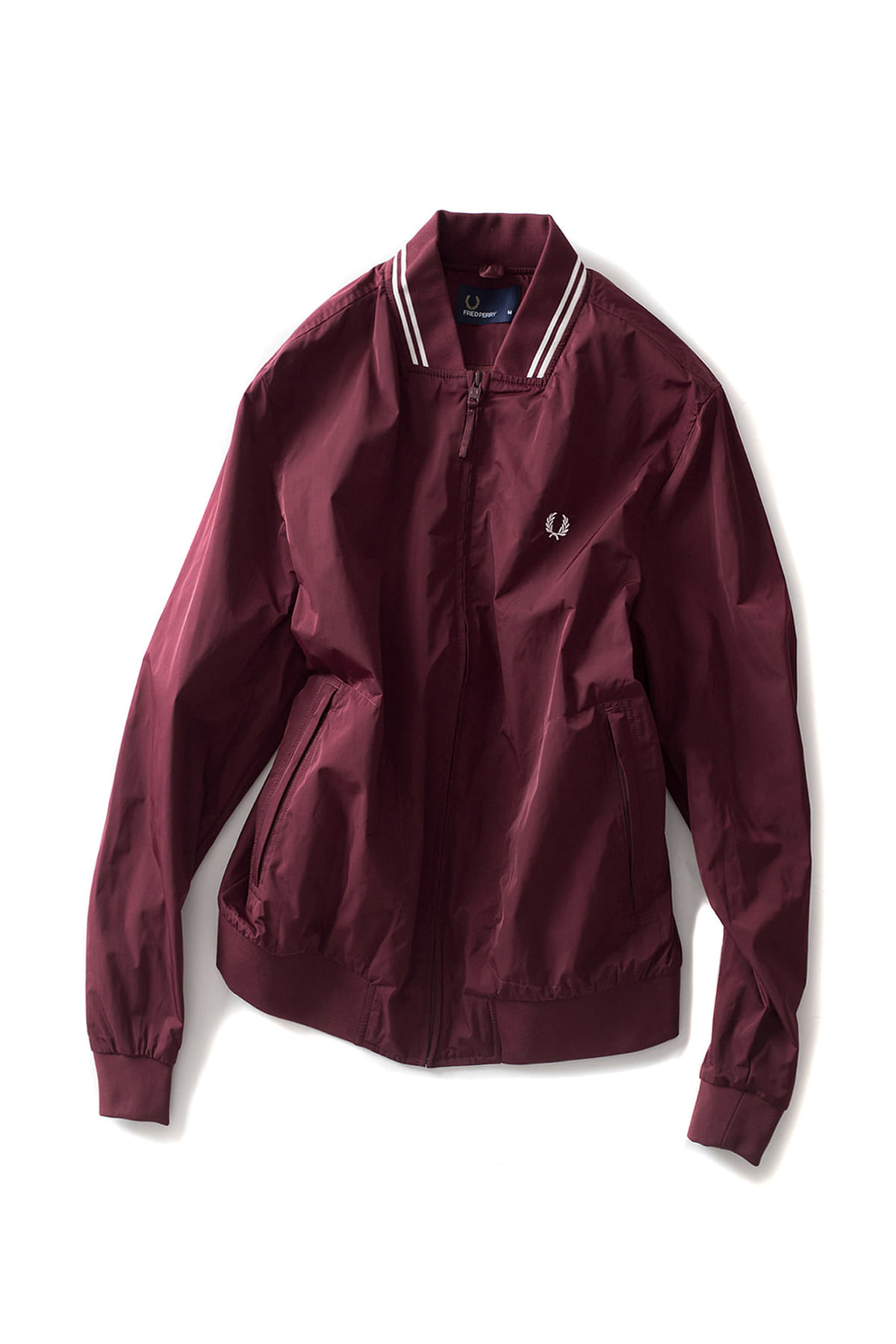FRED PERRY : Twin Tipped Bomber Jacket (Rosewood)