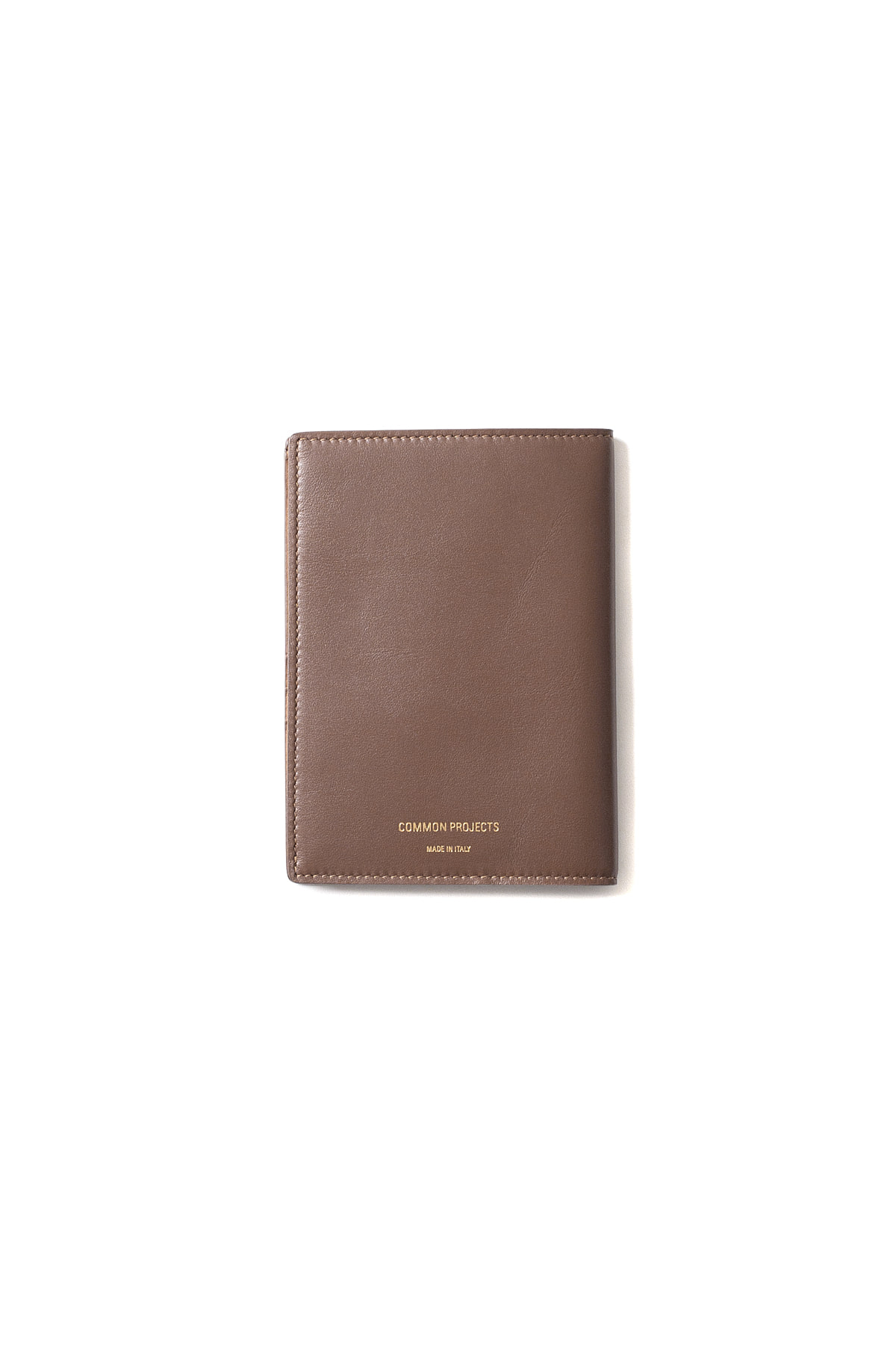 Common Projects : Passport Folio In Softy Leather (Brown)