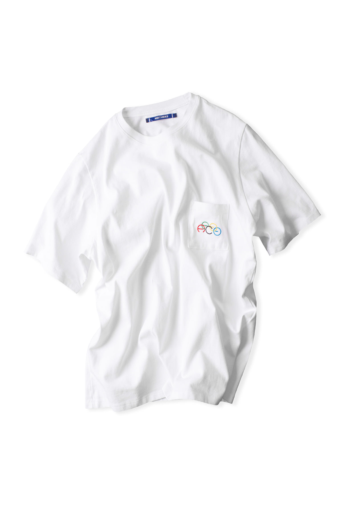 NEITHERS : 1-Pocket T-Shirt (White)