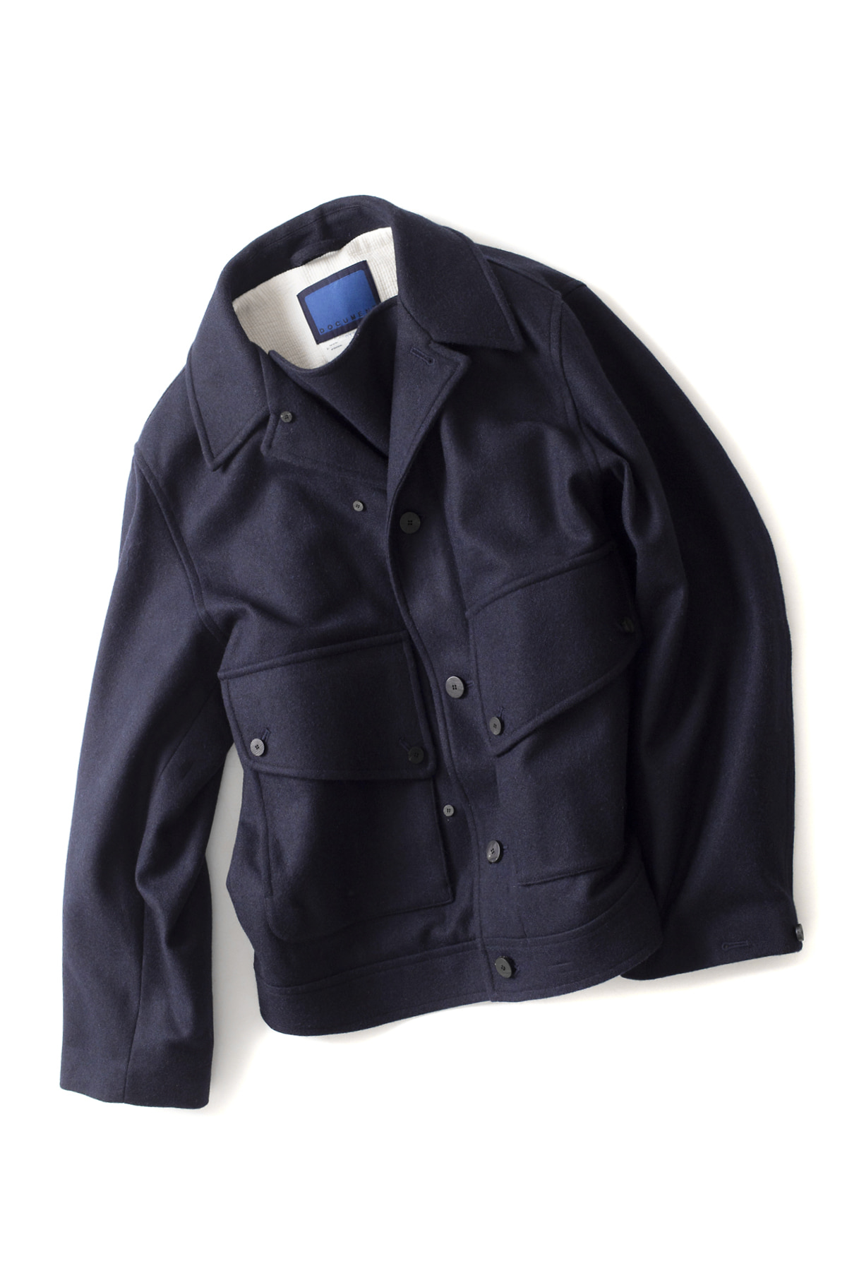 Document : The Document Big Jacket (Navy)