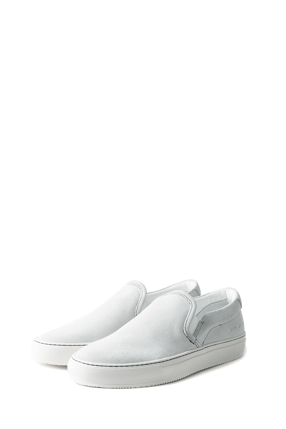 Common Projects : Slip On In Suede 5173 (White)
