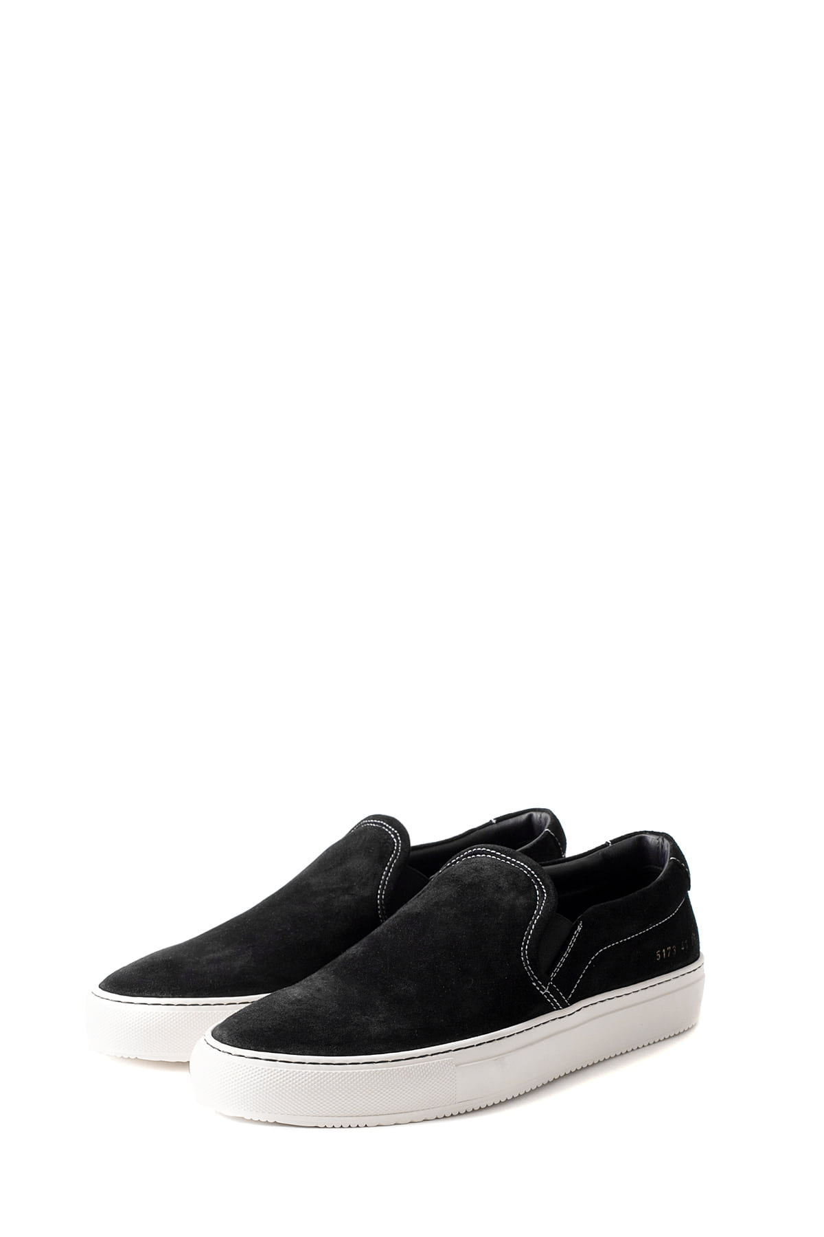 Common Projects : Slip On In Suede 5173 (Black)