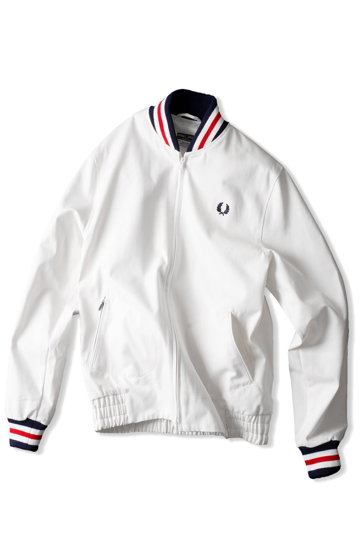 FRED PERRY : Mie Original Tennis Bomber (Snow White)