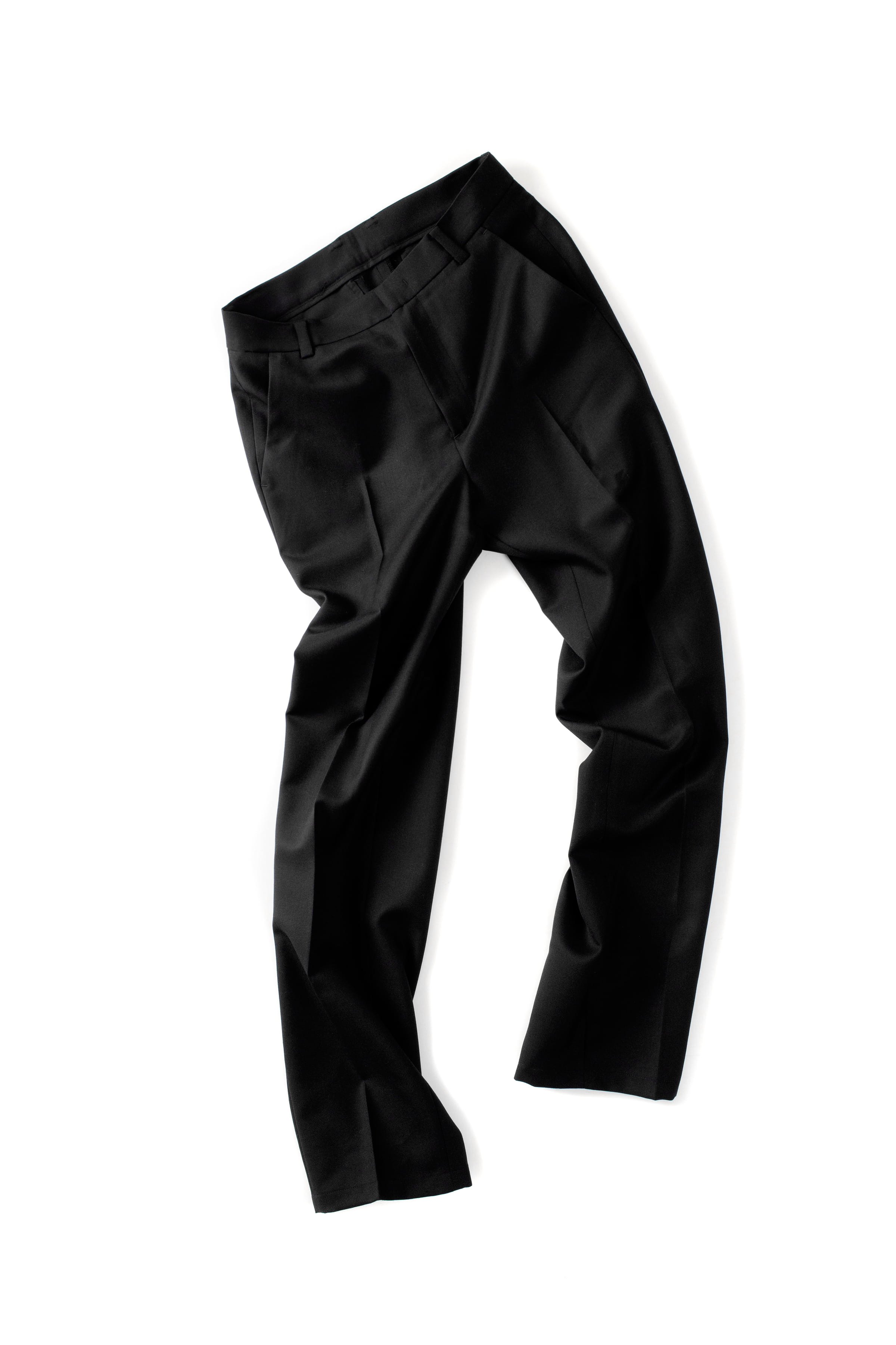 THE MUSEUM VISITOR : Graphic Trouser (Black)