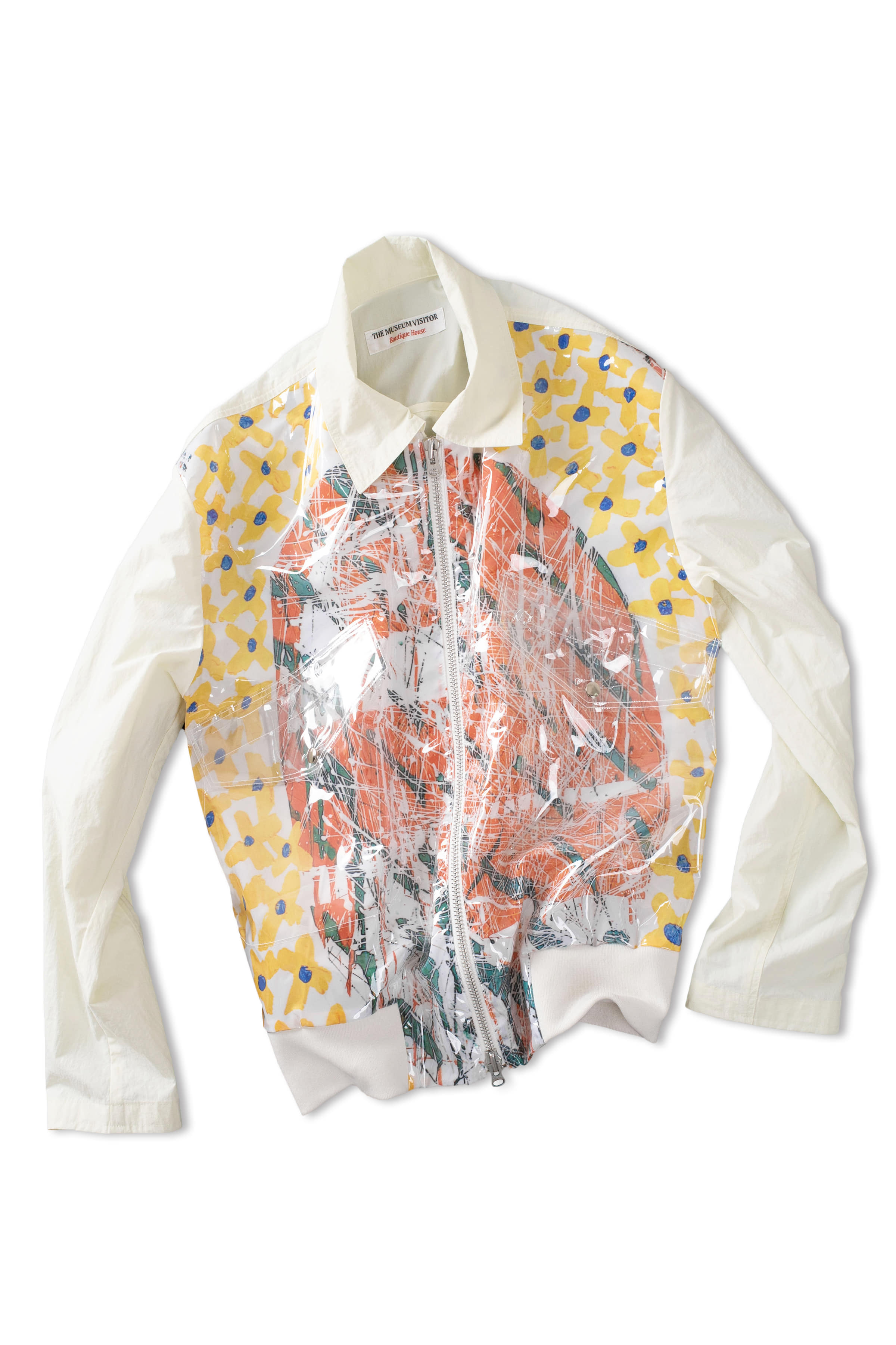 THE MUSEUM VISITOR : Graphic Blouson 09 (Off White)