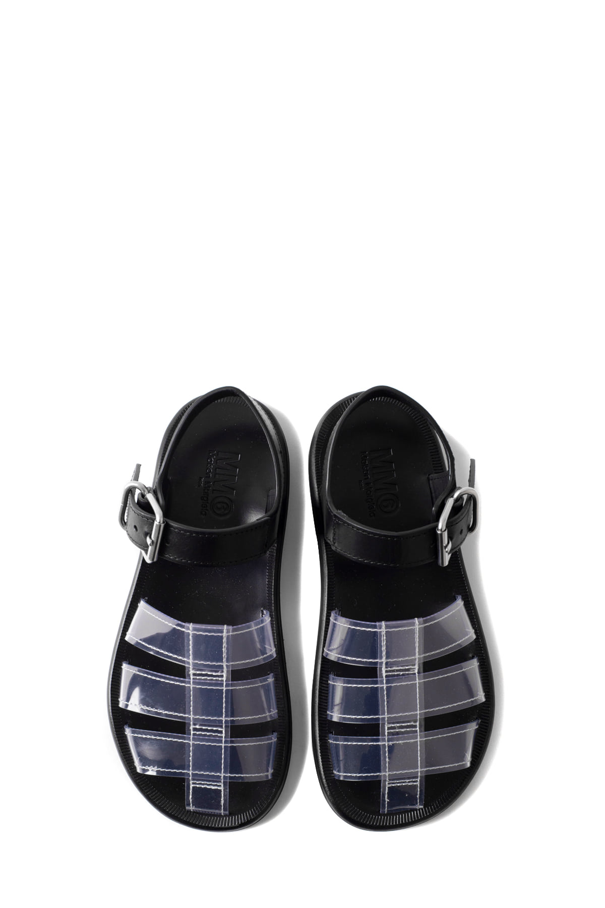 MM6 Maison Margiela : Sandals (Black)