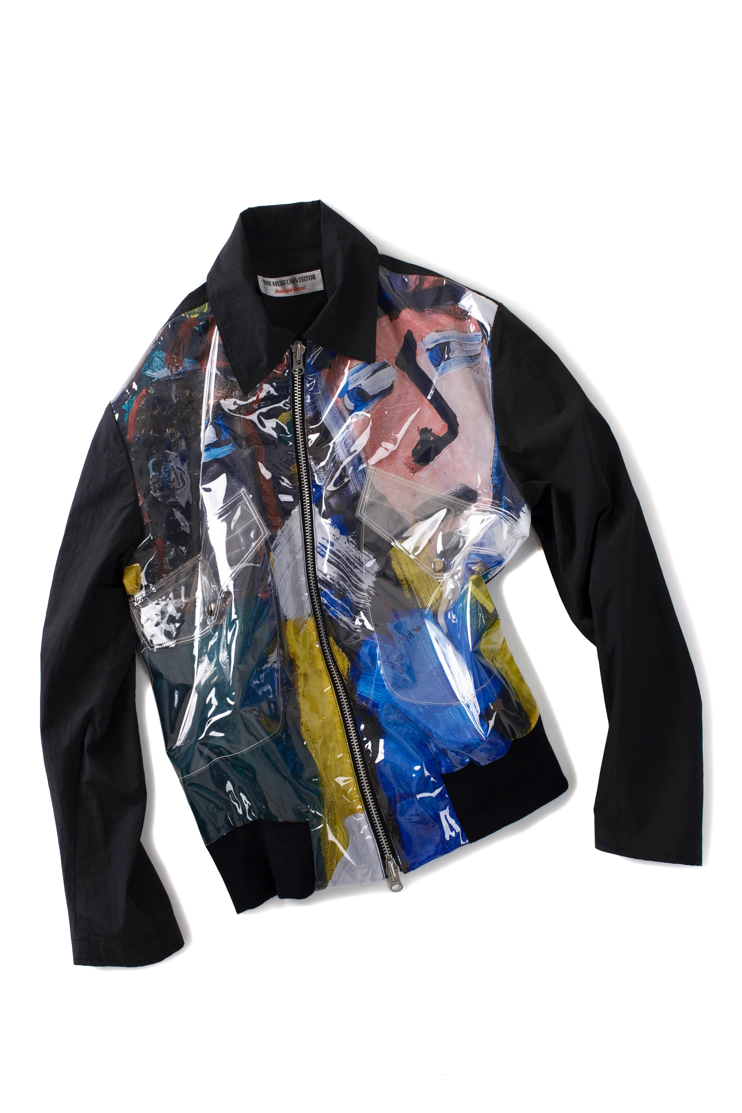 THE MUSEUM VISITOR : Graphic Blouson 13 (Black)