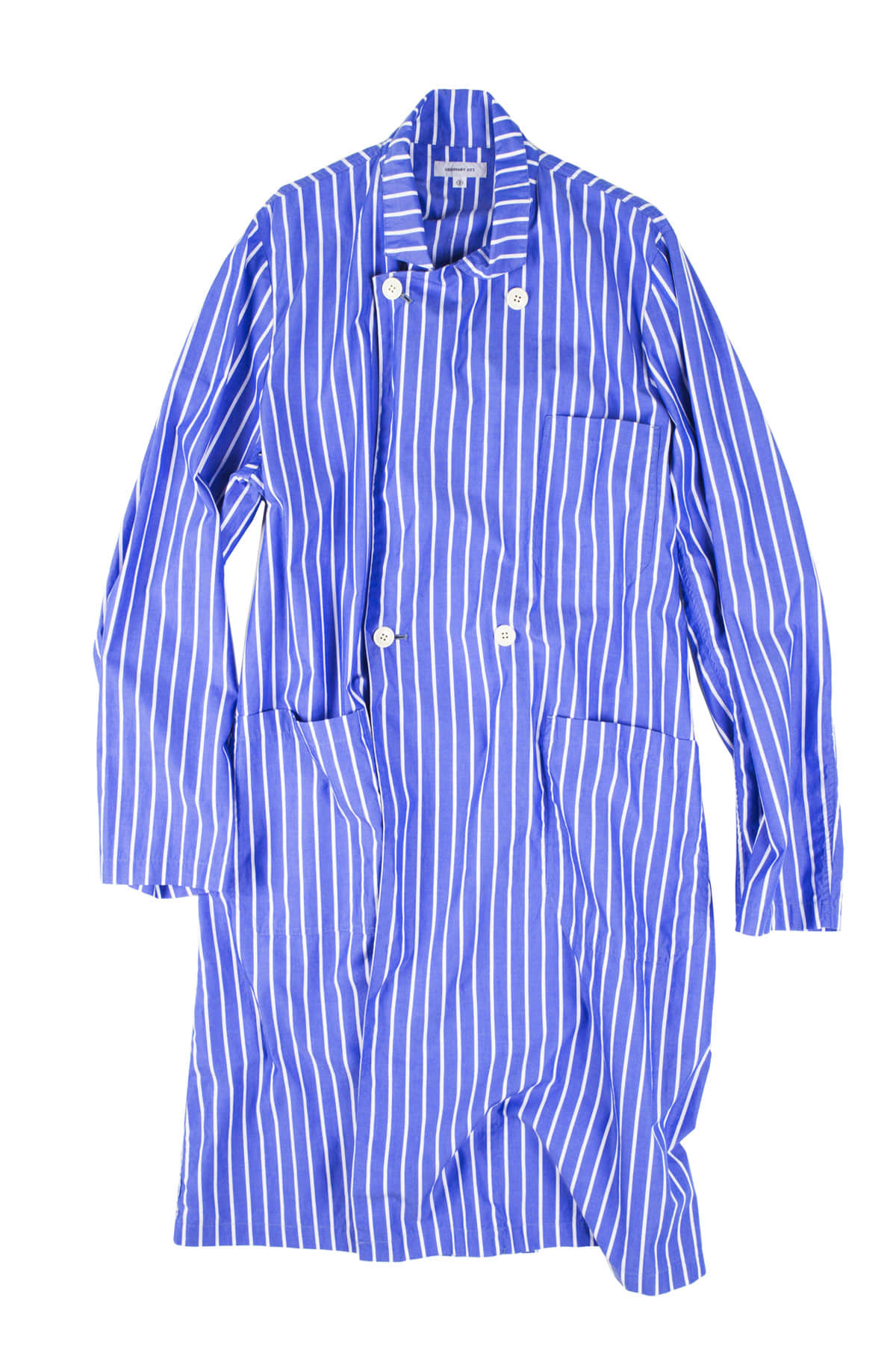 Ordinary fits : Store Coat Stripe (Blue White)