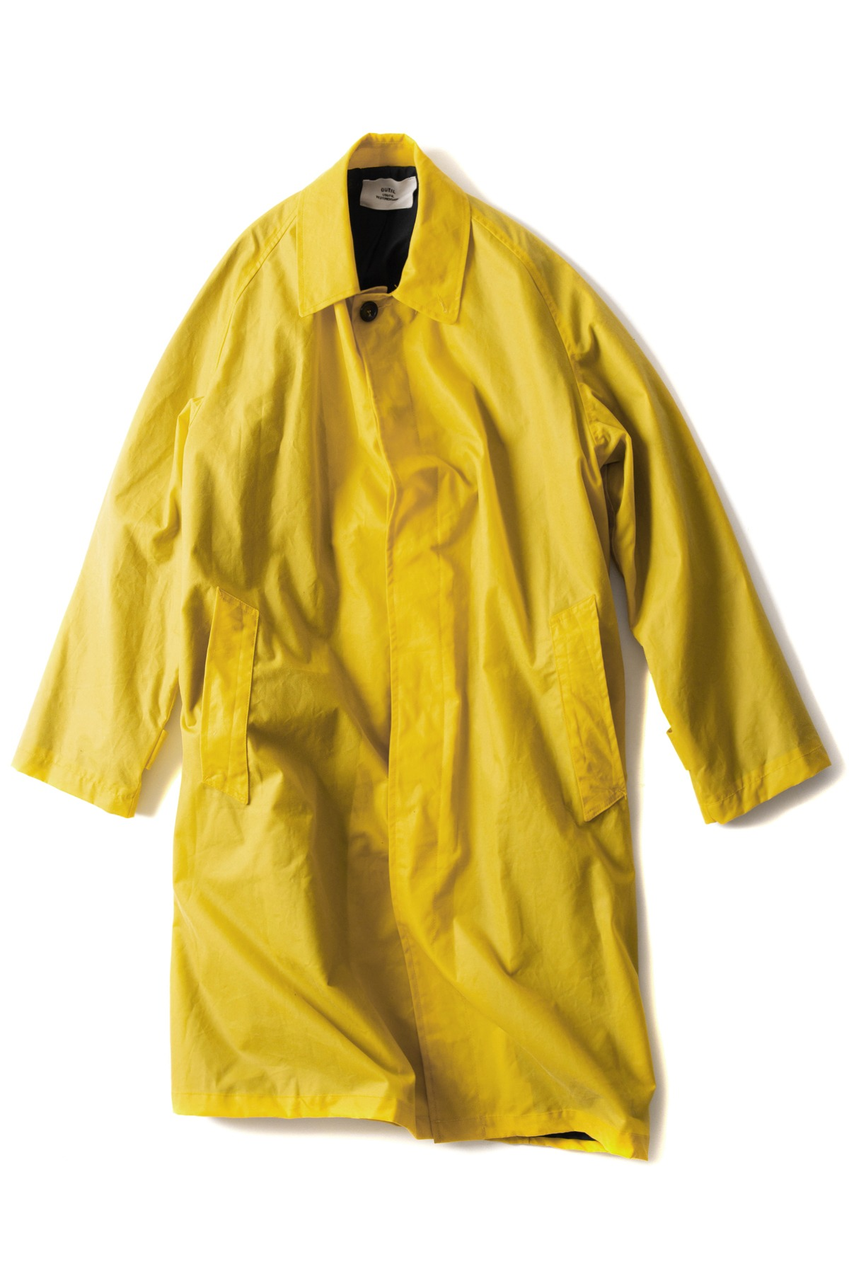 OUTIL : Manteau Calais (Yellow)