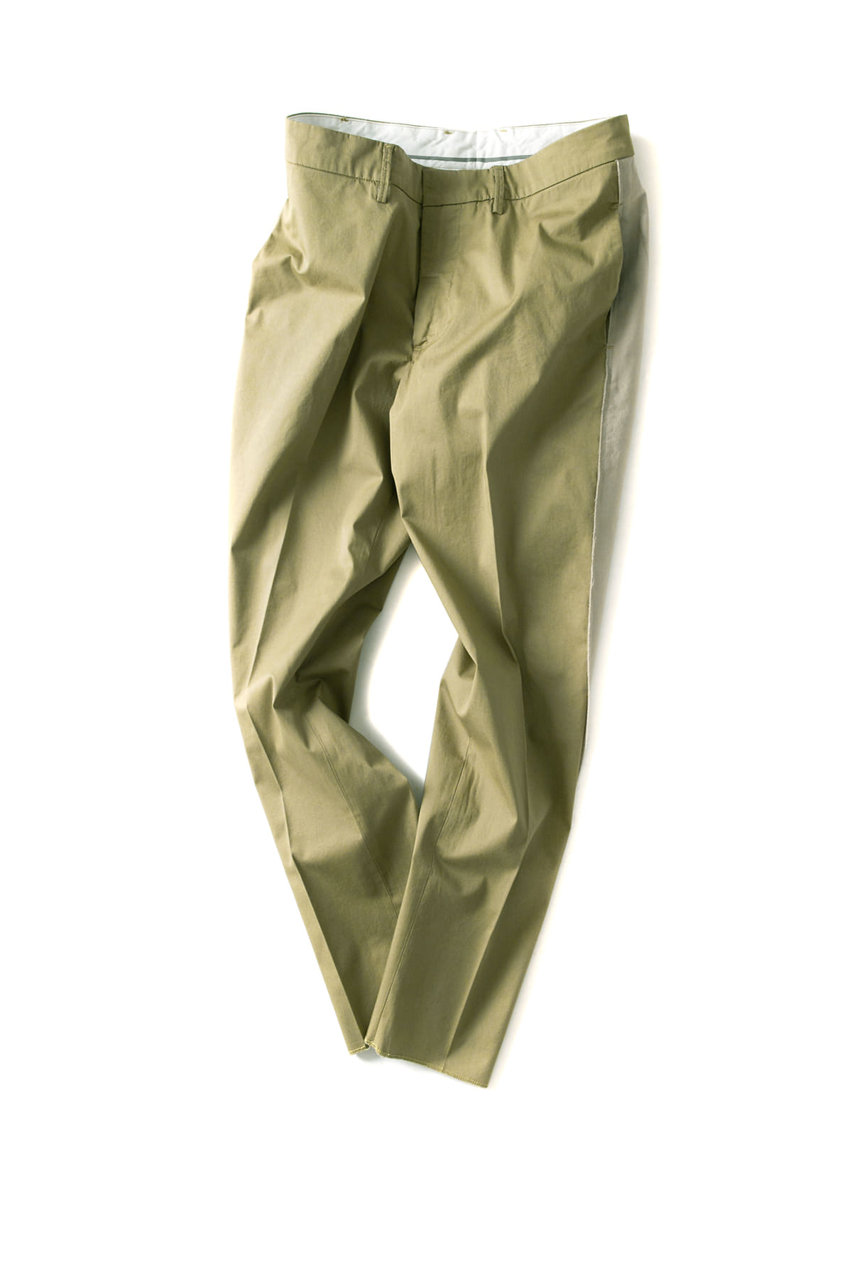 THE EDITOR : Woven Man Trousers 5610 (Green)