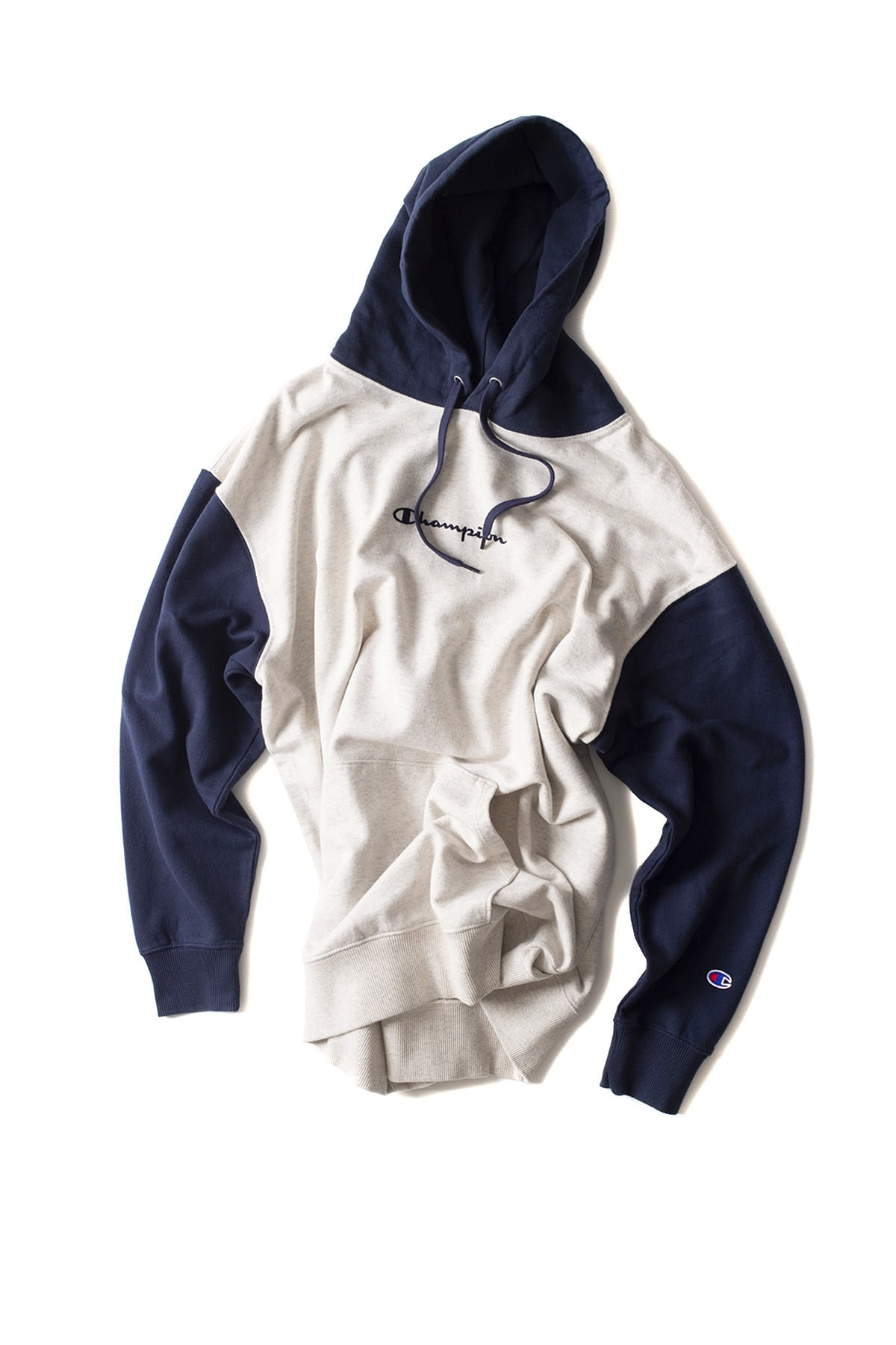 Champion : Pullover Wet Parker (Oatmeal)