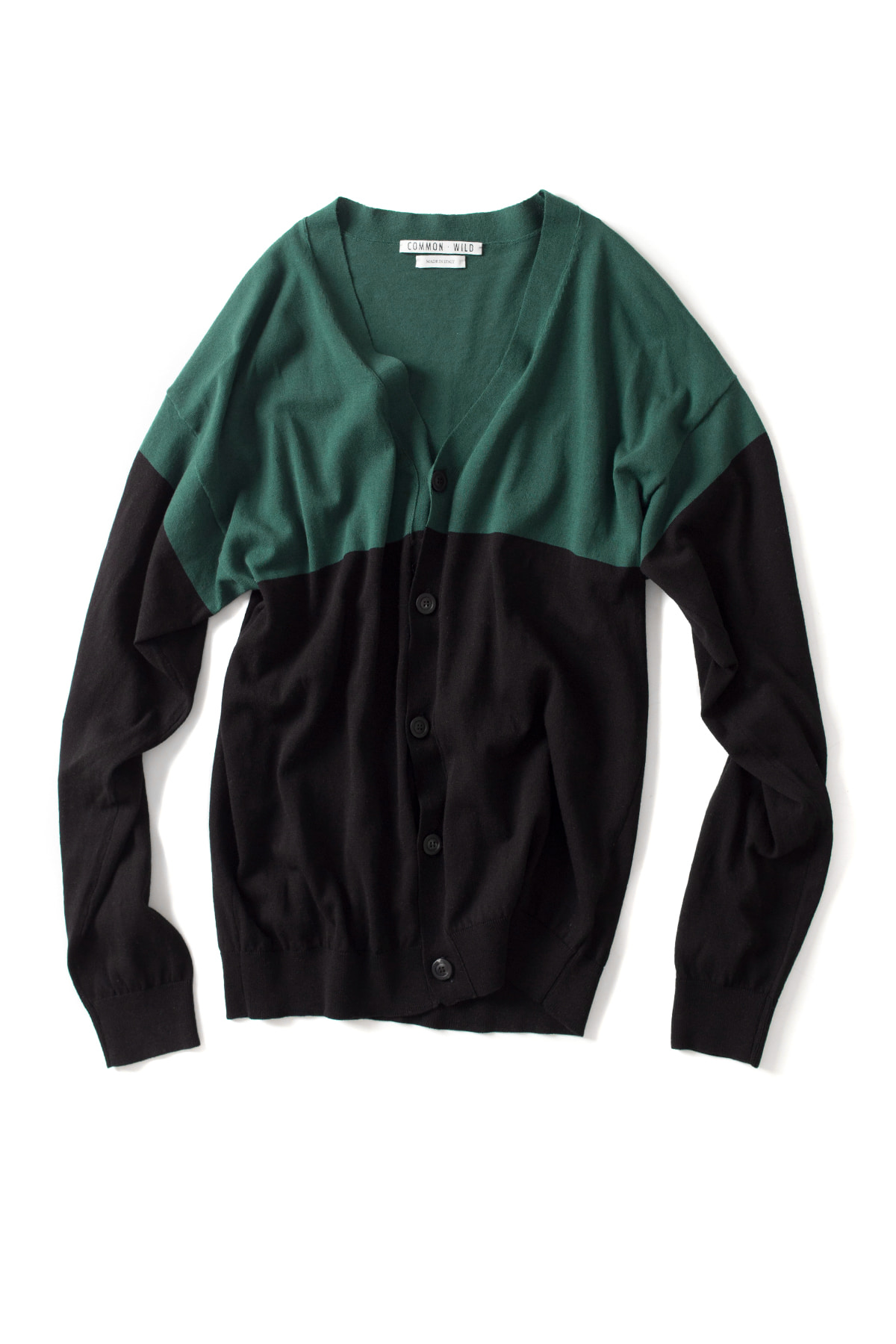 COMMON WILD : Knit Cardigan (Green)