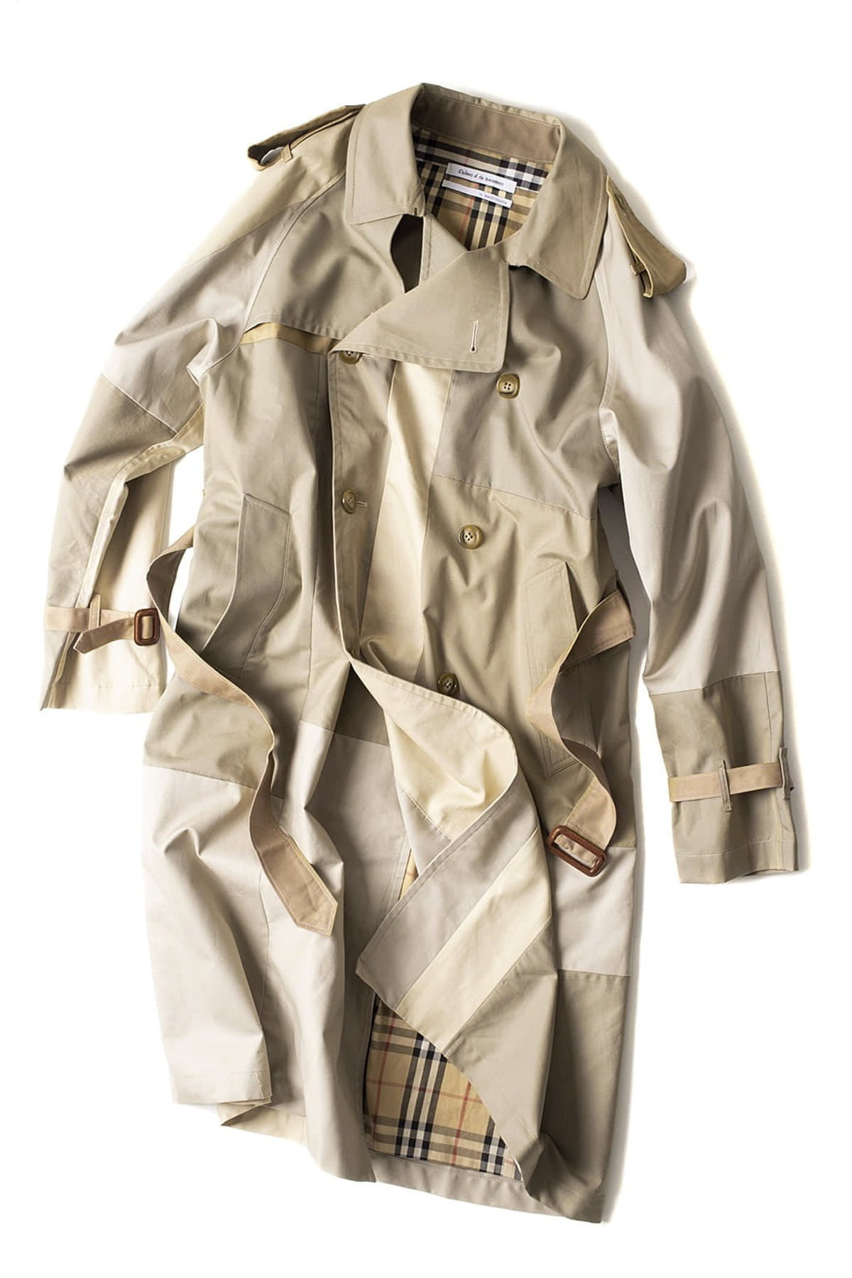 Children of the discordance : Vintage Patch Trench Coat (D)