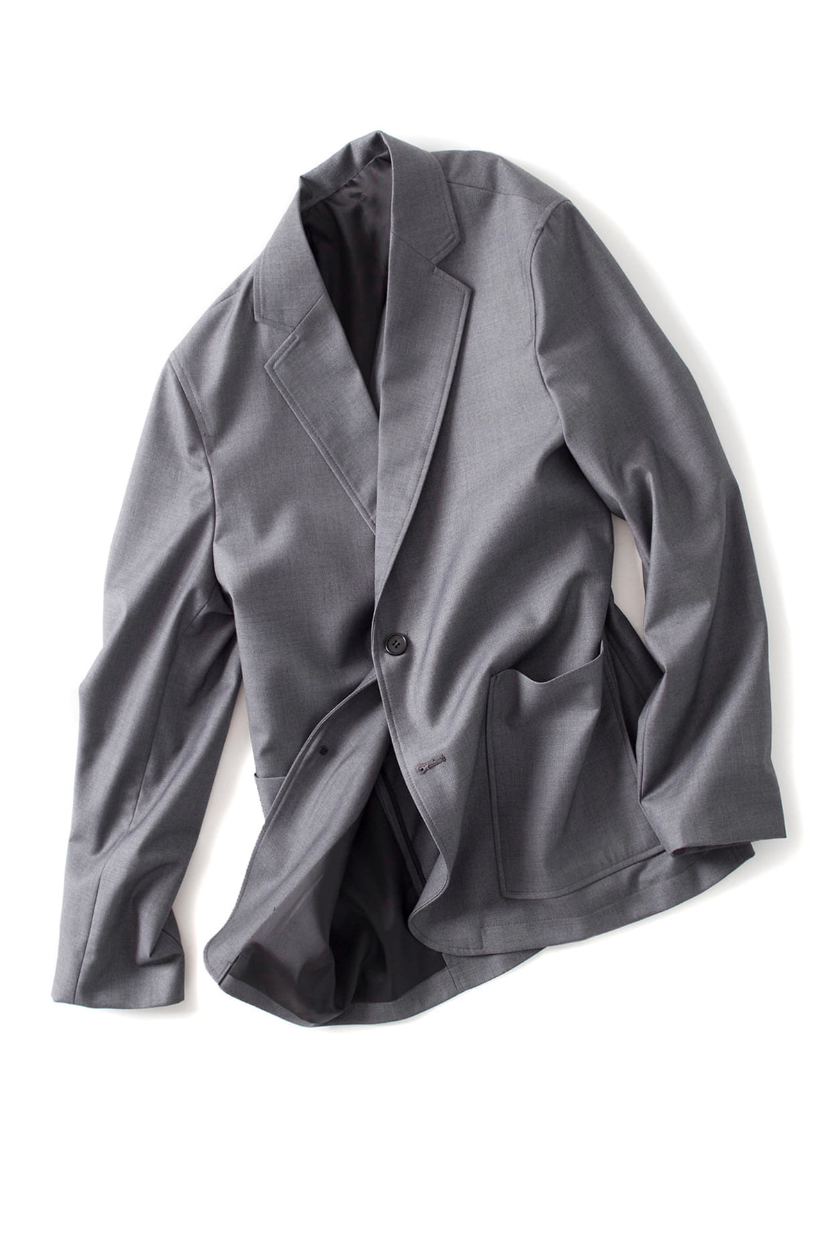 BIRTHDAYSUIT : Daily Suit Jacket (Light Grey)