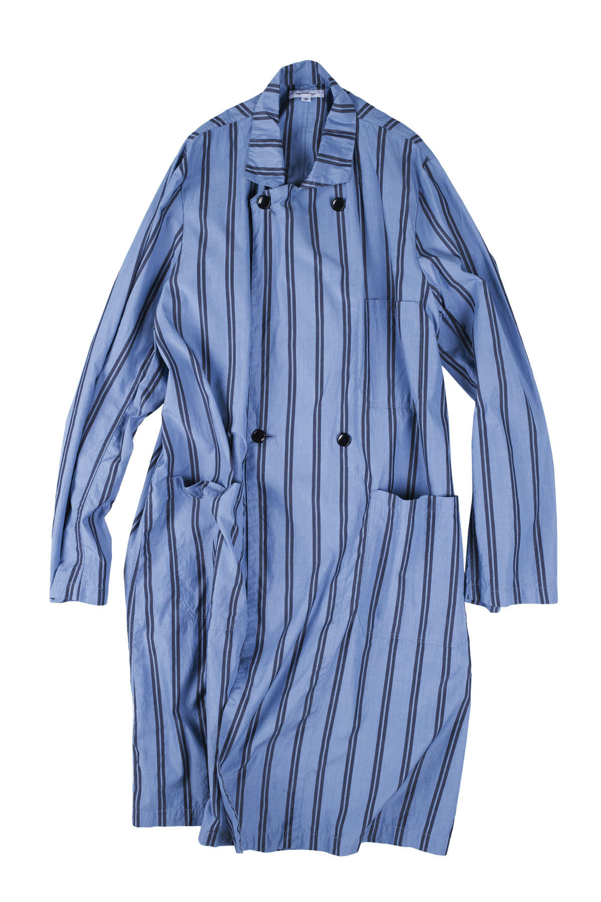 Ordinary fits : Store Coat Stripe (Blue Black)