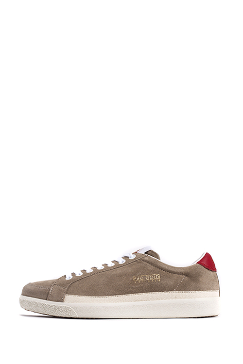 Pantofola d'Oro : Top Spin Suede Lo (Beige)