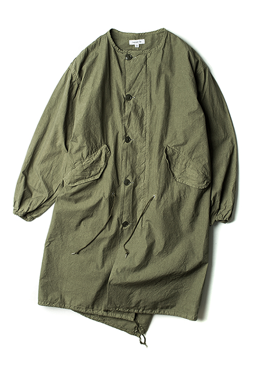 ordinary fits : Gas Protect Coat (Olive)
