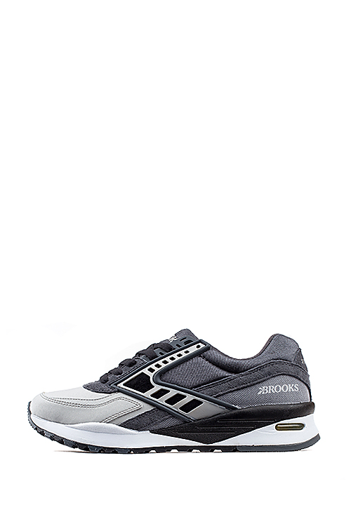 Brooks Heritage : Regent (Anthracite / Black / Silver Reflect)