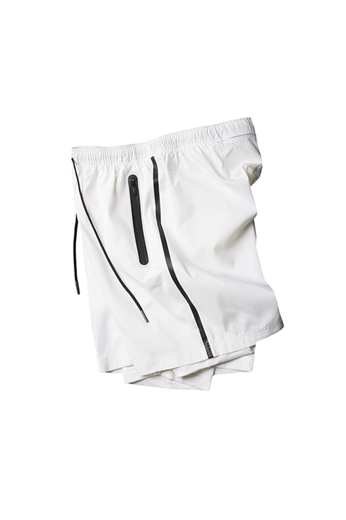PUMA x STAMPD : Tech Shorts (WHITE)