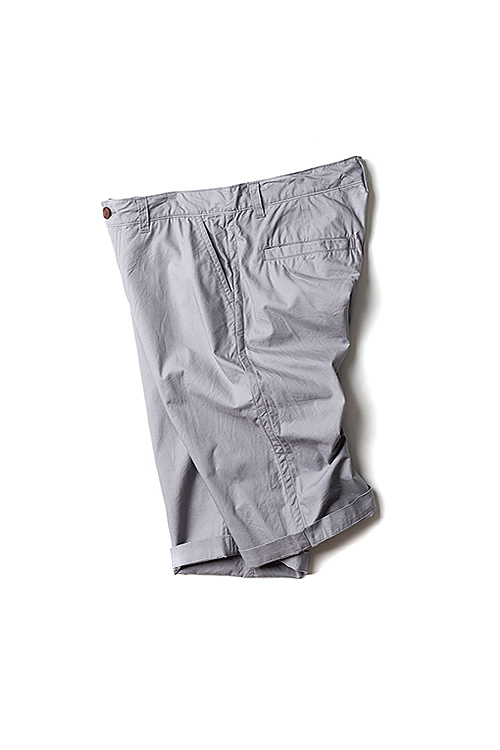 RINEN : Organic Cotton Shorts (Grey)