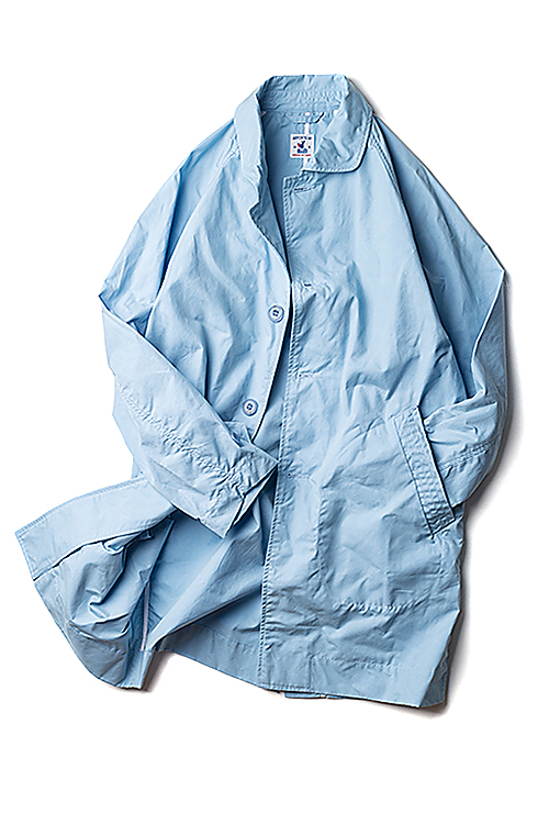 Arpenteur : Utile Coat (Light Blue Sali Gabardine)