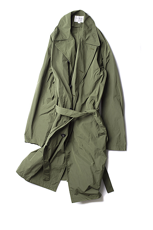 Still By Hand : Trench Coat (Olive)