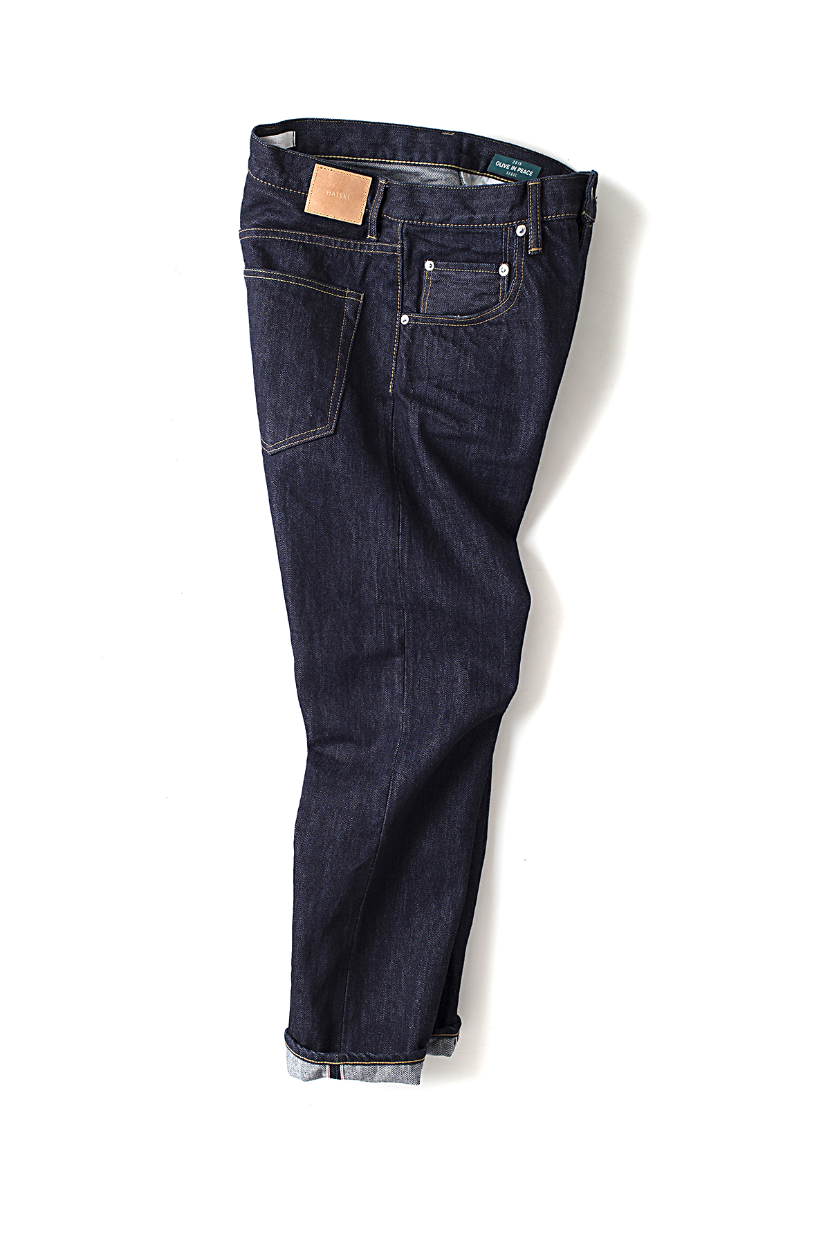 HATSKI : Loose Tapered Denim