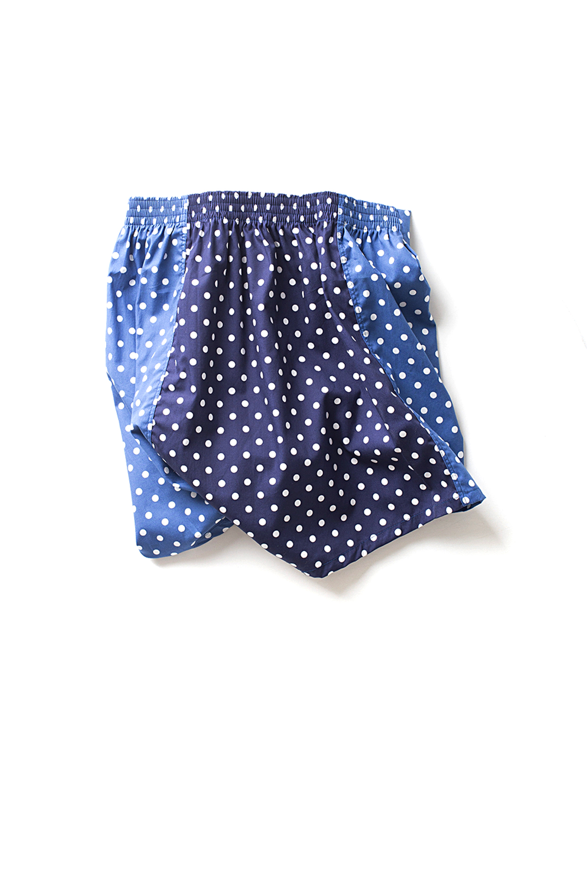 NAPALS : Crazy Dot Box Trunks (NVY x BLU)