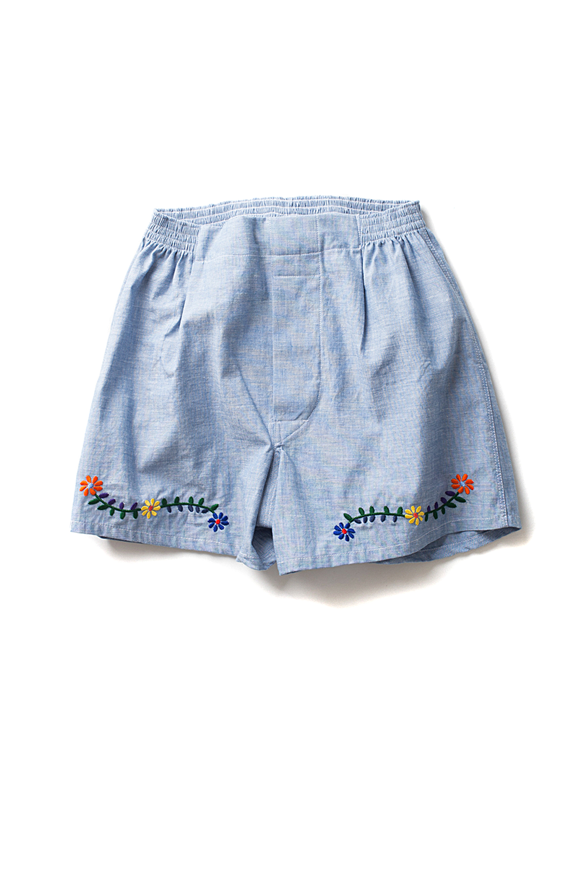 NAPALS : Chambray Box Trunks (Blue)