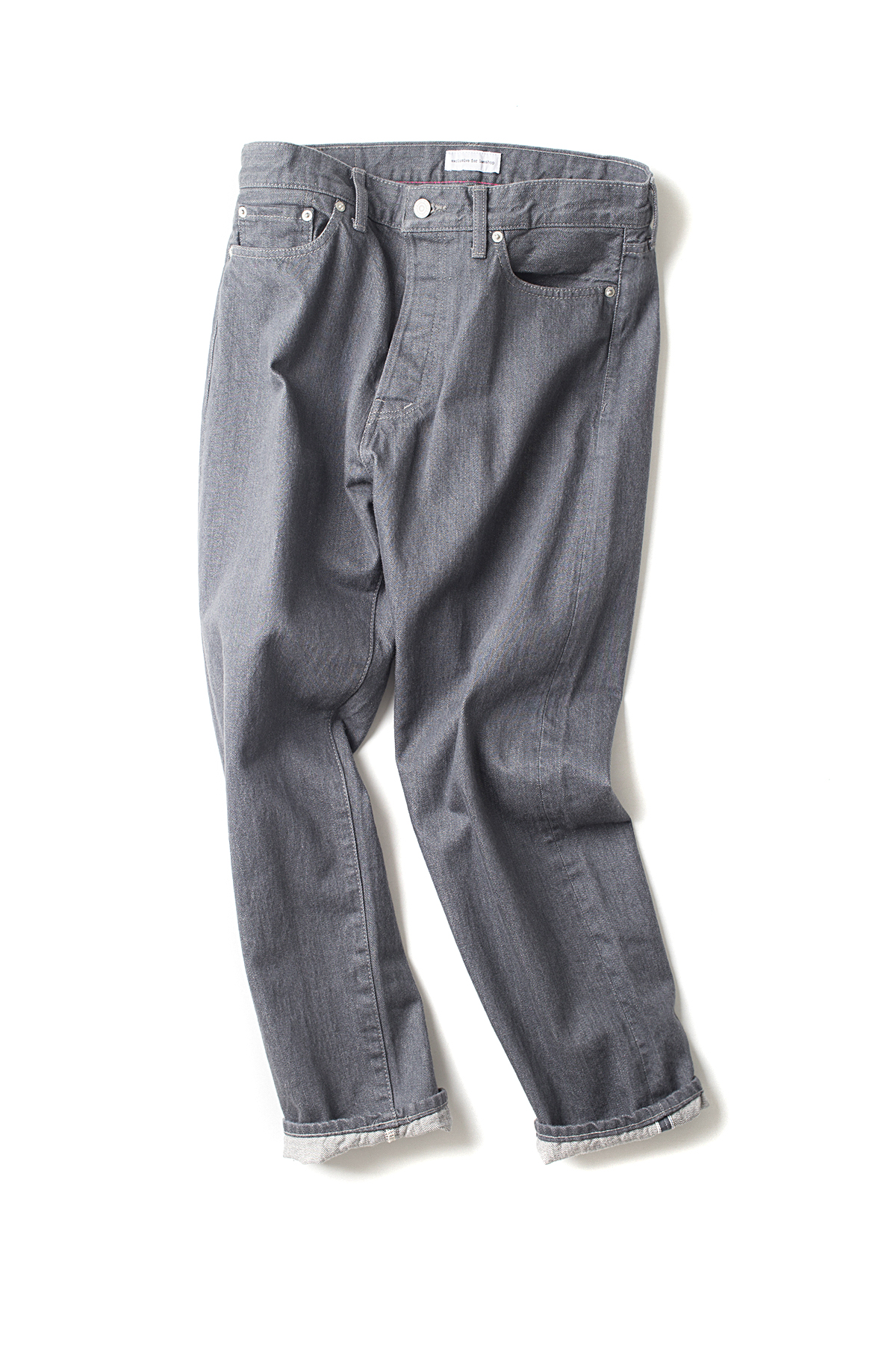 ordinary fits : 5pkt Ankle Denim (Grey One wash)
