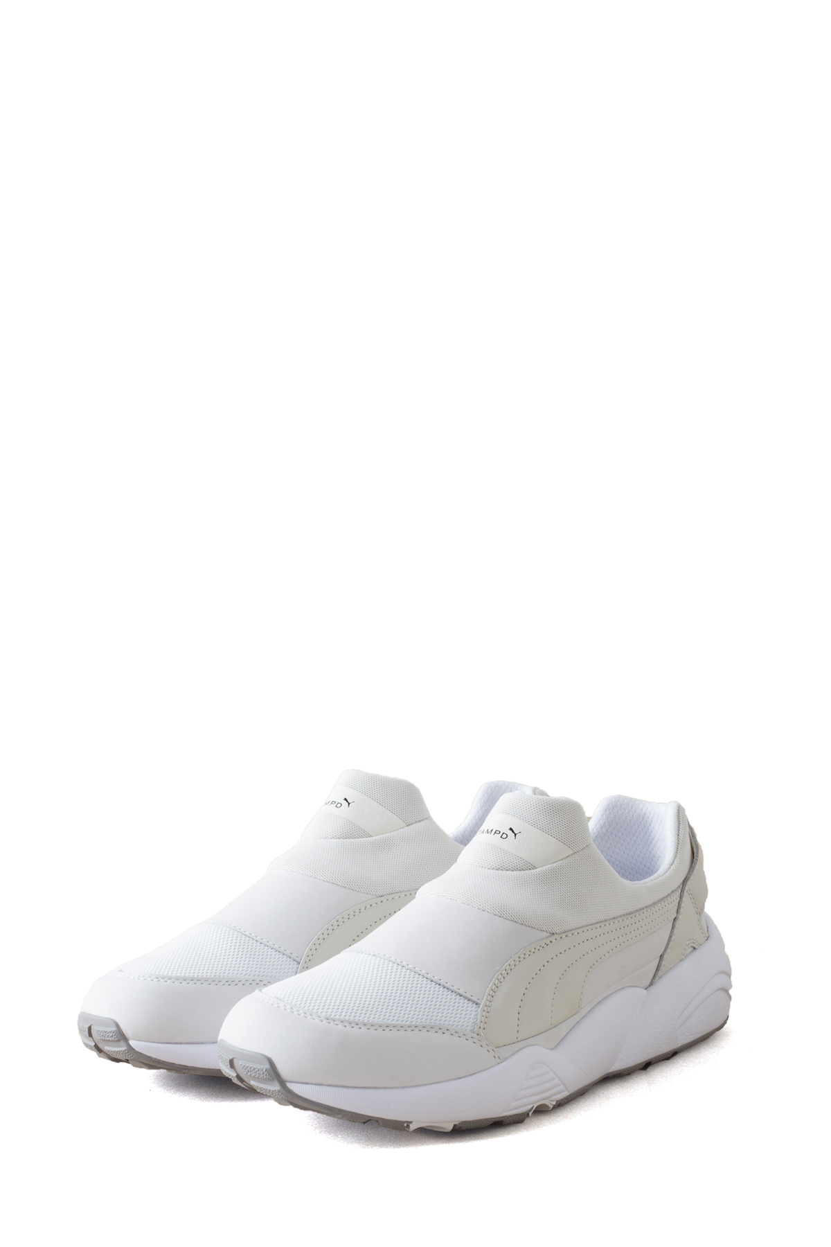 Puma x STAMPD : Trinomic Sock NM x STAMPD (White)