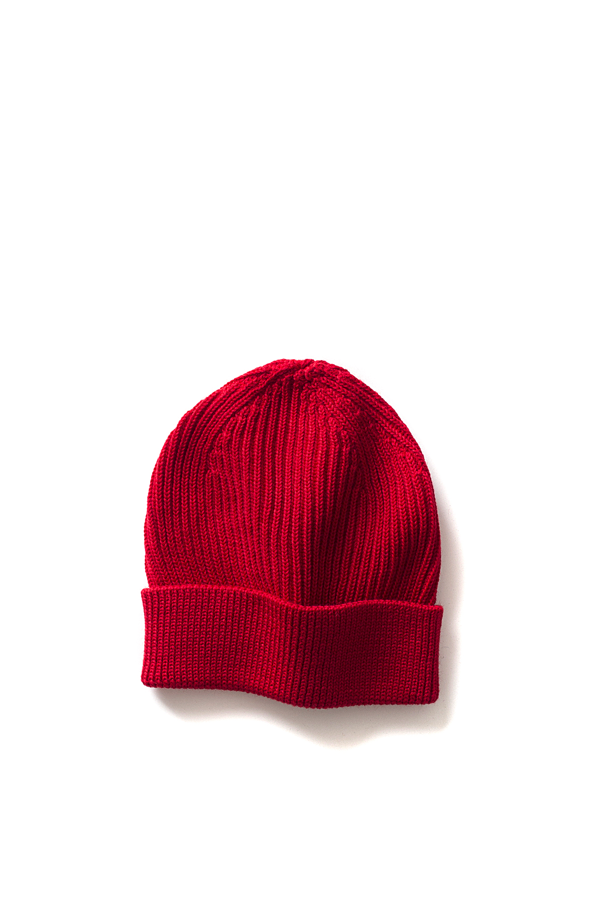Andersen-Andersen : Beanie Long Knitted Hat (Red)