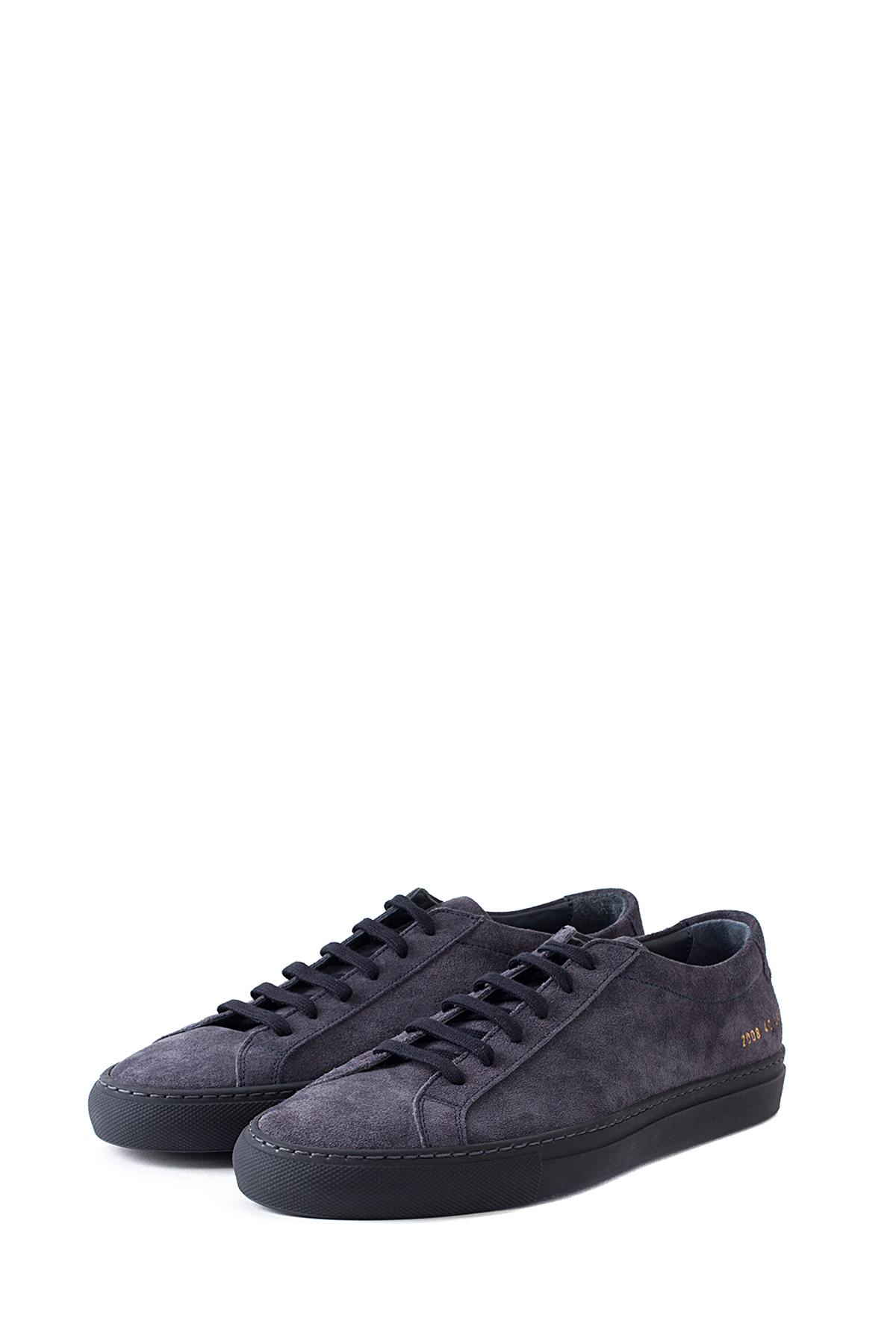 Common Projects : Original Achilles Low in Suede (Navy)