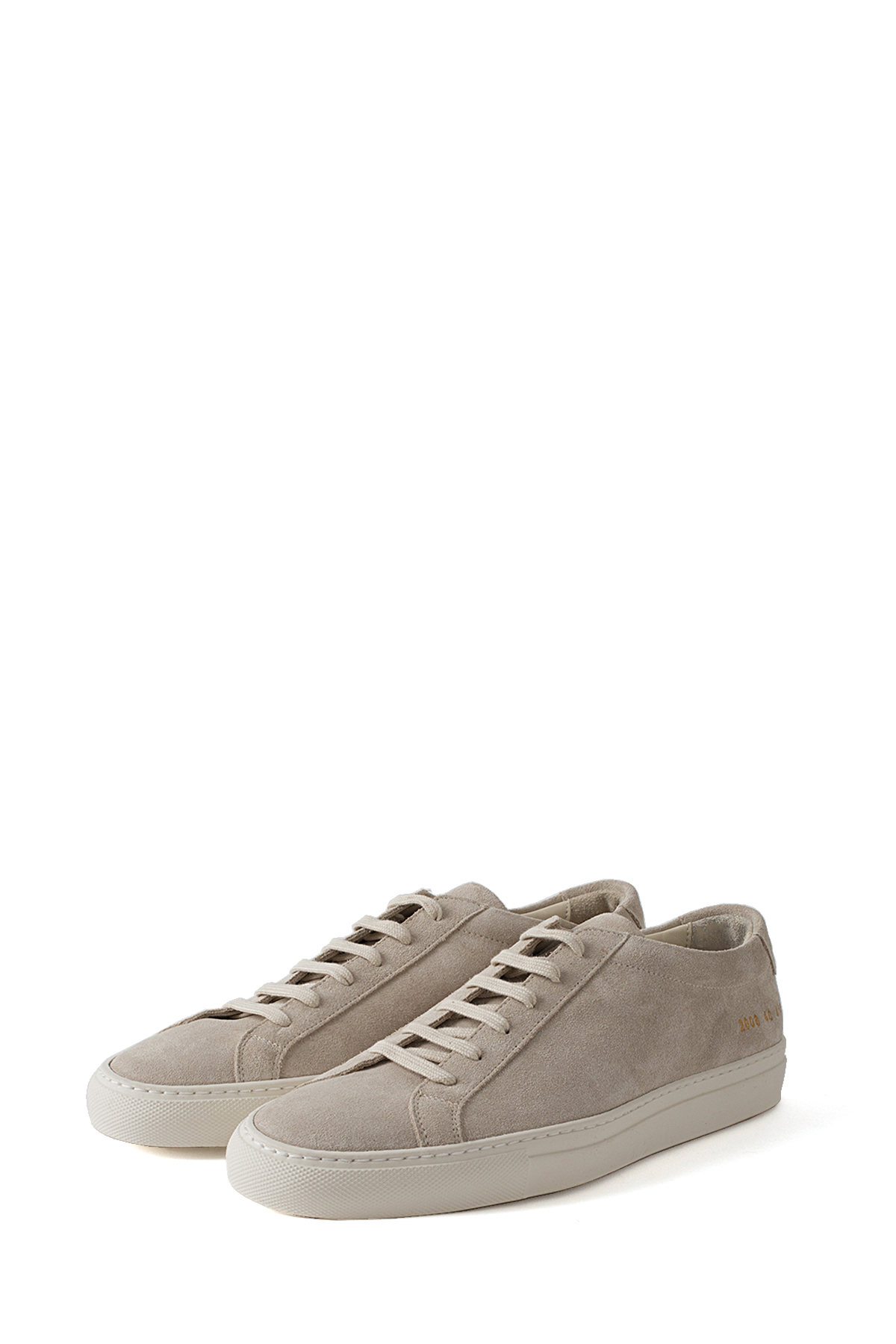 Common Projects : Original Achilles Low in Suede (Off White)